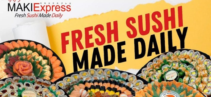 Maki Sushi Express Delivery Review