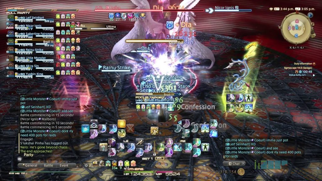 Final Fantasy XIV – Sigmascape V4.0 (Savage) / O8S Guide Part 1