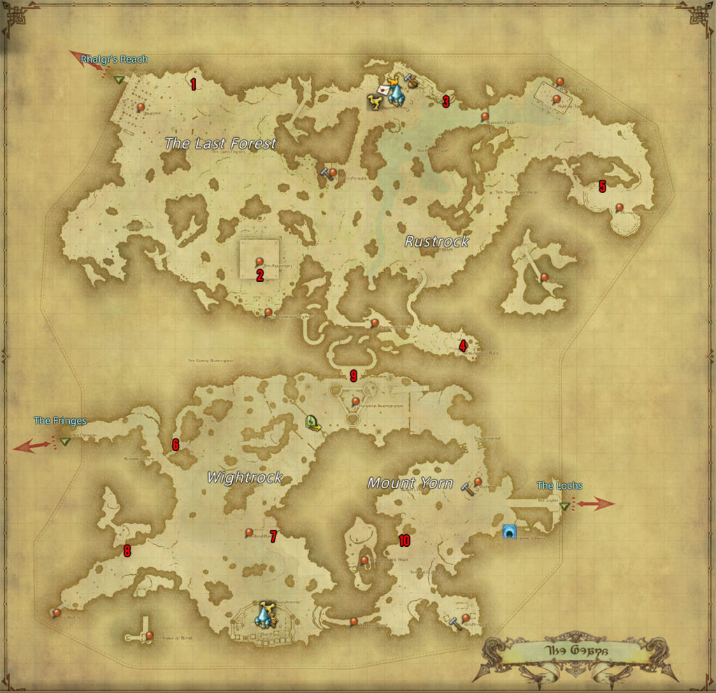 FFXIV: Stormblood – All Aether Current Locations